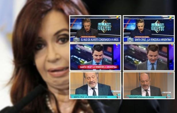 Cristina usó imágenes falsas para cuestionar a los medios