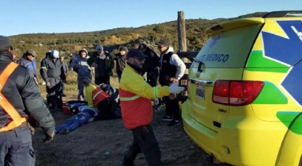 Falleció un espectador que se descompensó en el shakedown del Rally