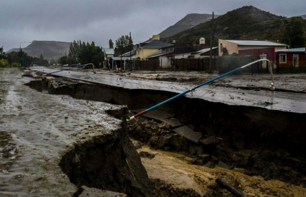 Nuevamente la lluvia agravó la situación en Comodoro Rivadavia