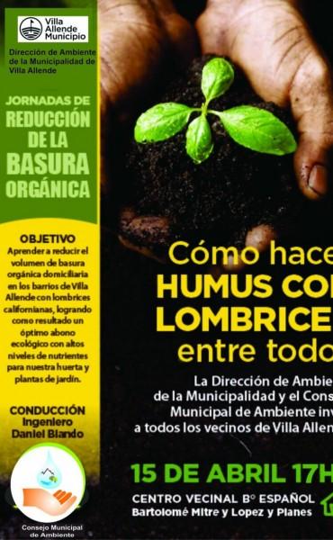 Tratamiento de residuos y producción de Humus