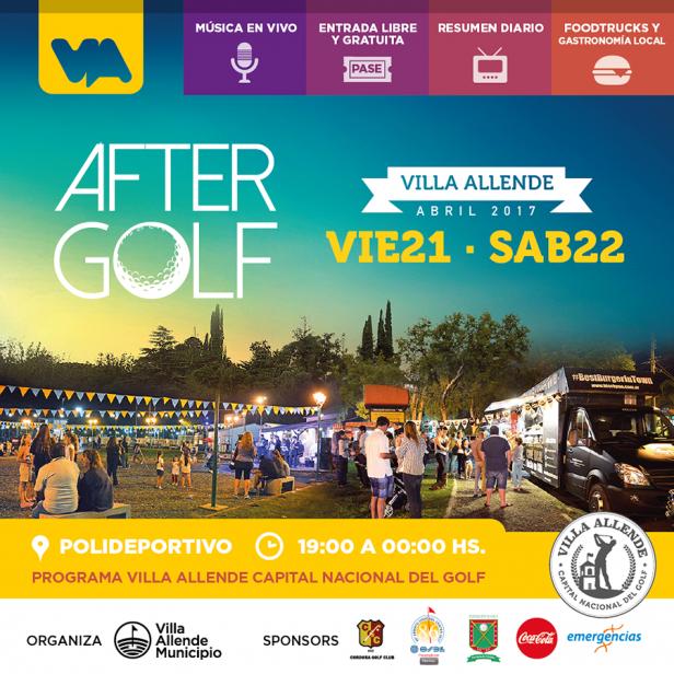 ¡Se viene el After Golf!