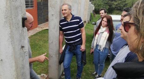 Baldassi y Aguad hicieron el timbreo de Cambiemos en Córdoba