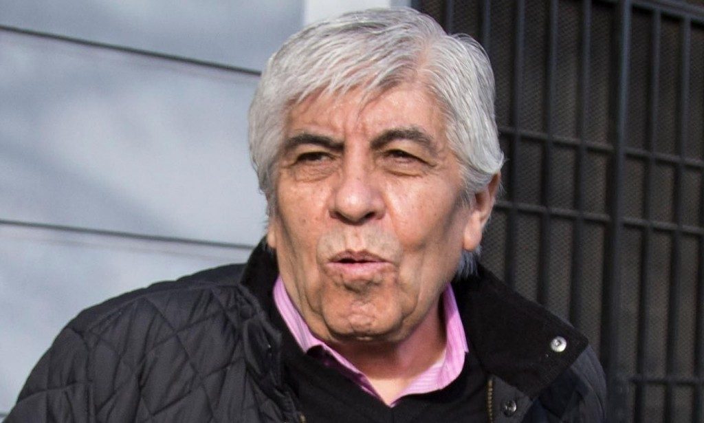 Investigan a Hugo Moyano por 77 vuelos privados