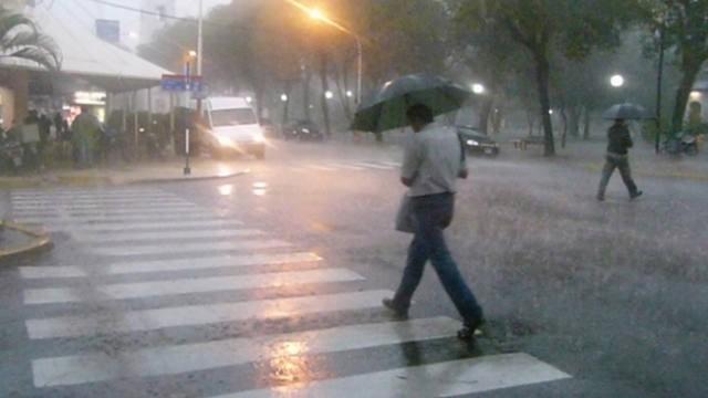 Alerta por abundantes precipitaciones para centro del país