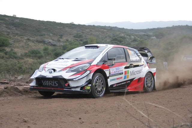 El Rally pone primera en el tramo de Calamuchita