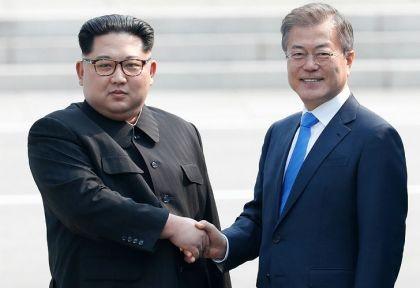 Las dos Coreas se unieron en un saludo histórico