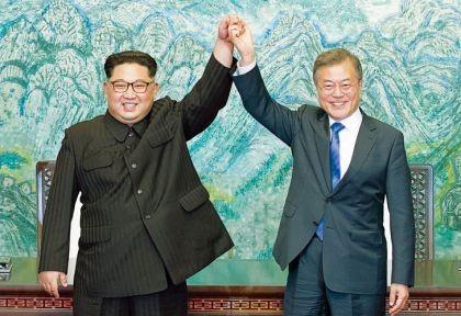 Las dos Coreas se comprometen a la paz y la desnuclearización