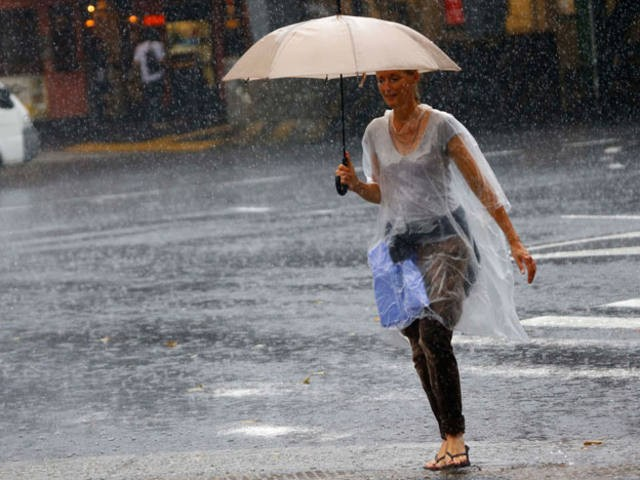 Renuevan el alerta por tormentas para el centro del país