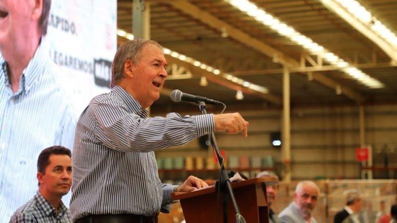 Schiaretti rechazó el debate previo a la elección