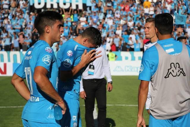 Belgrano descendió a la Primera B Nacional