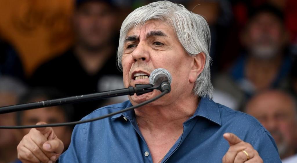 Fuertes declaraciones del sindicalista Hugo Moyano: