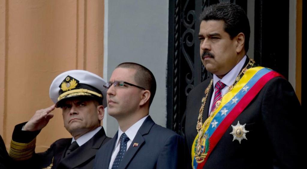 """EE.UU. suma al canciller de Venezuela a su """"lista negra"""""""