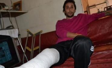 Joven denuncia que sufrió golpiza brutal en una comisaría