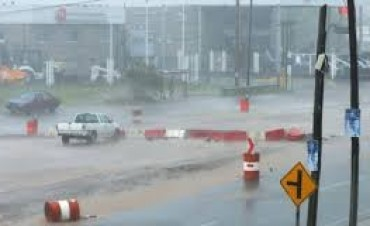 Alerta por tormentas fuertes para el centro del país