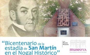 Muestra en homenaje al BICENTENARIO DE LA ESTADÍA DE SAN MARTÍN en la ciudad.