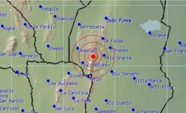 Sismo de 3,5° se registró en Córdoba