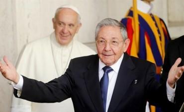 Rául Castro en el Vaticano:
