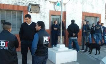 Santa Fe. Copan comisaría, roban armas y un móvil y asaltan un banco