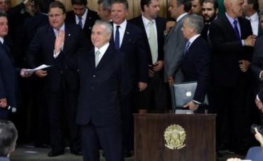 Tras la suspensión de Dilma Rousseff asumió Temer