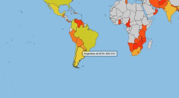 En un año, Argentina subió 34 puestos en el Índice Global de transparencia