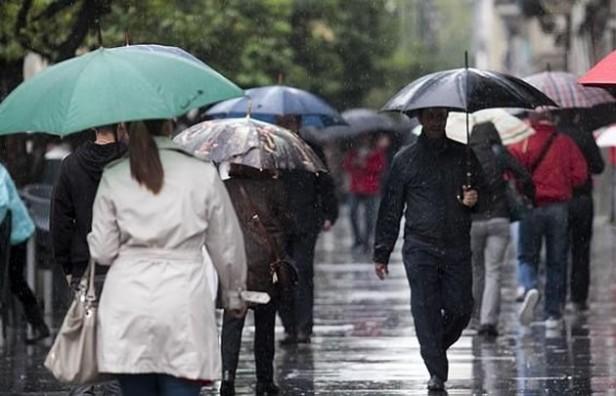 Rige alerta meteorológica para el centro del país