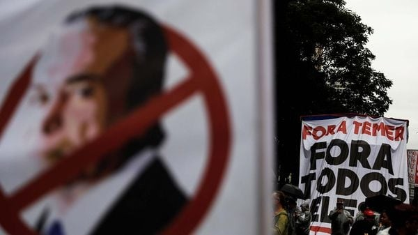 Los brasileños volvieron a salir a las calles para pedir la renuncia de Michel Temer