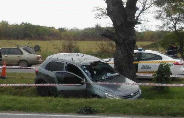Murió un motociclista arrollado por un auto en la ruta E-53