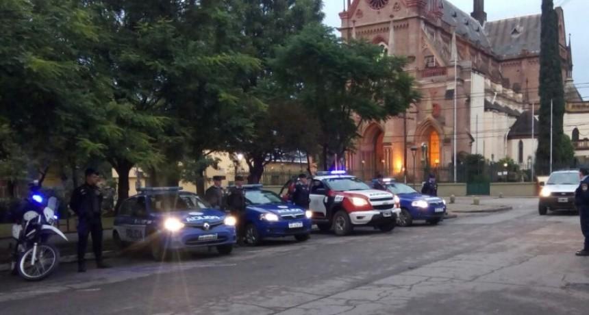 Operativo de Saturación policial en Villa Allende