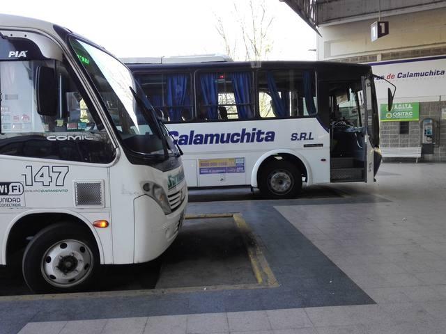 El jueves aumenta el boleto de transporte interurbano