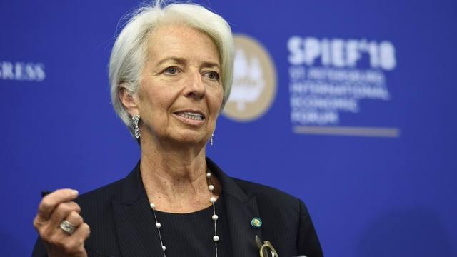 Lagarde afirmó que avanzan las negociaciones con Argentina