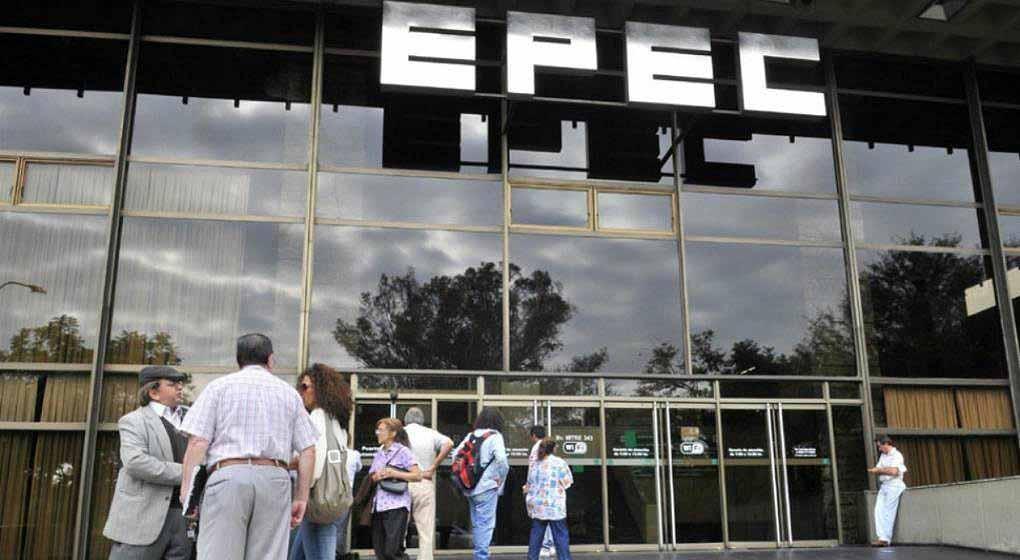 Epec perdió casi $ 700 millones en 9 meses del año pasado