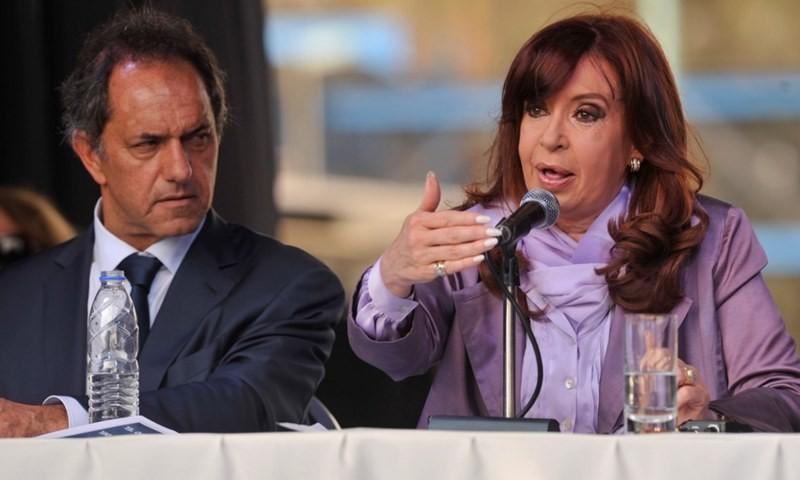 Scioli enfrentará a la fórmula Fernández-Fernández en las PASO