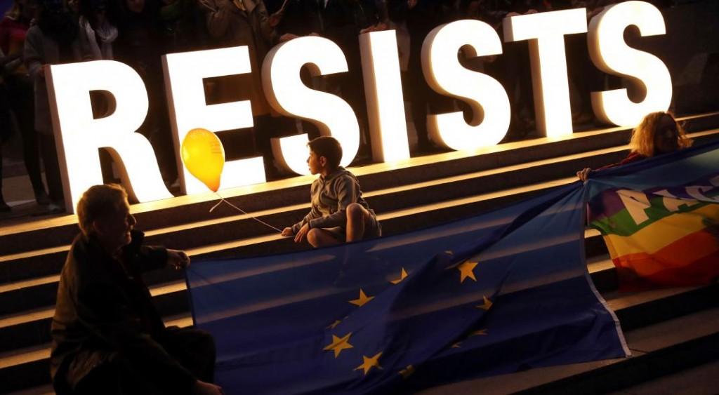 Avanzan menos de lo esperado las fuerzas contrarias a la Unión Europea
