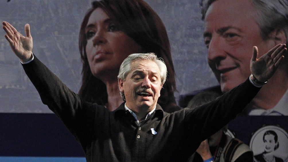 Alberto Fernández y Cristina Kirchner comparten su primer acto juntos, en Merlo