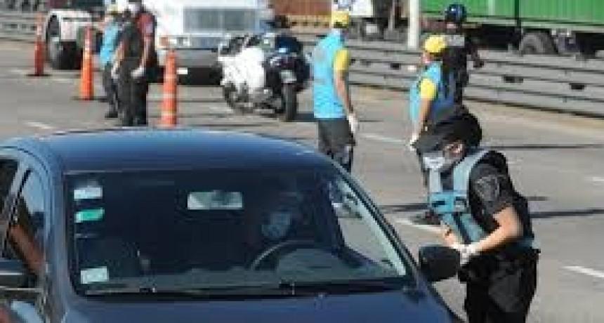 Refuerzan controles en ciudades del interior de Córdoba