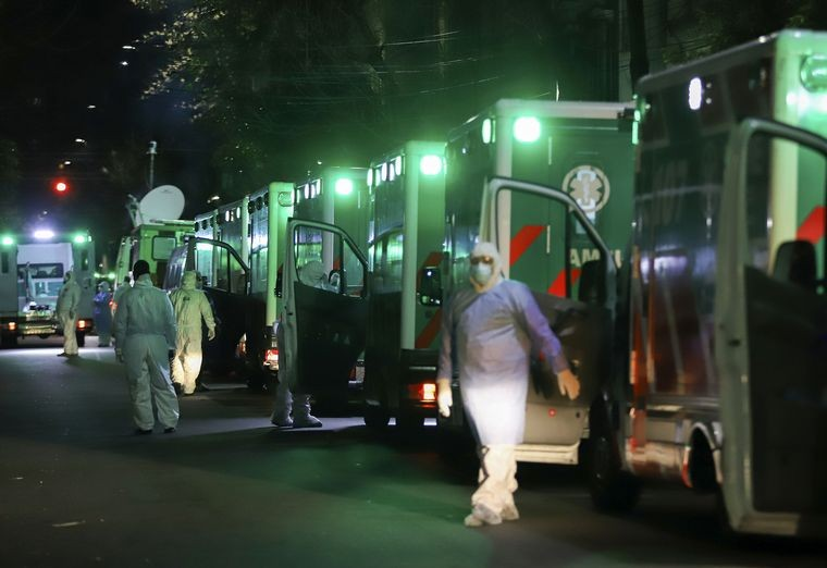 Coronavirus en Argentina: 532 muertes y 35.399 casos