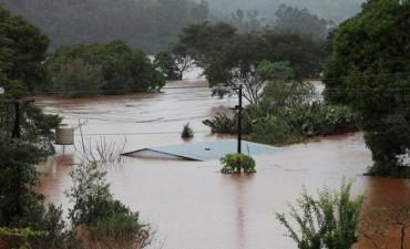 Inundaciones: Sigue lloviendo en Misiones y crece en número de evacuados