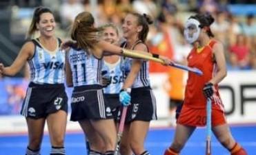 Las Leonas volvieron a ganar en Valencia por la Liga Mundial