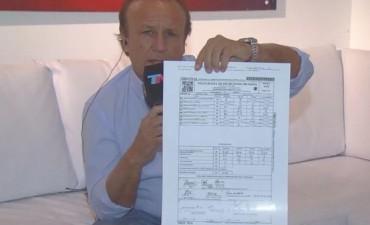 Miguel del Sel denunció irregularidades en el escrutinio provisorio: