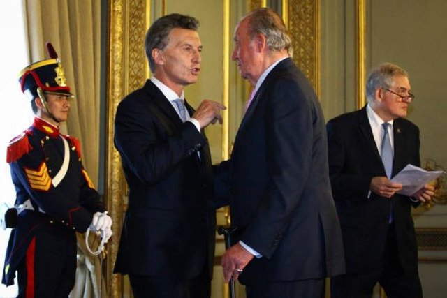 Macri invitó al rey de España a los festejos por la Independencia
