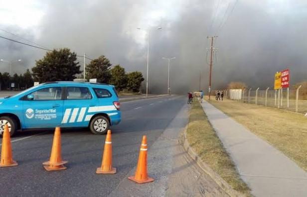 Controlaron incendio en un depósito municipal de Córdoba
