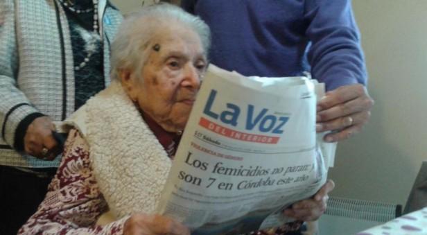 A sus 113 años falleció la cordobesa y argentina más longeva