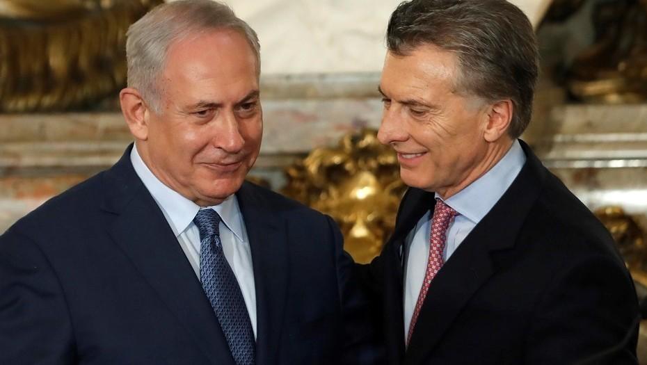 Netanyahu llamó a Macri para reflotar el amistoso entre la Argentina e Israel