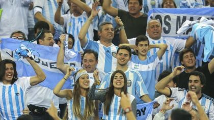 AFIP investigará a los hinchas argentinos que viajaron a Rusia