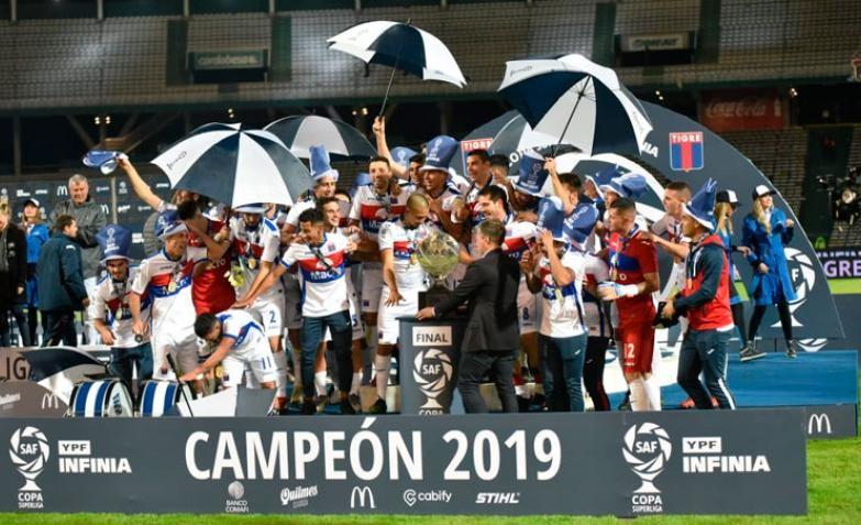 Tigre hizo historia en Córdoba, le ganó 2-0 a Boca y es campeón