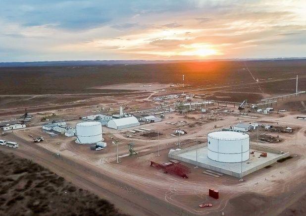 Inauguran obra estratégica para el gas de Vaca Muerta
