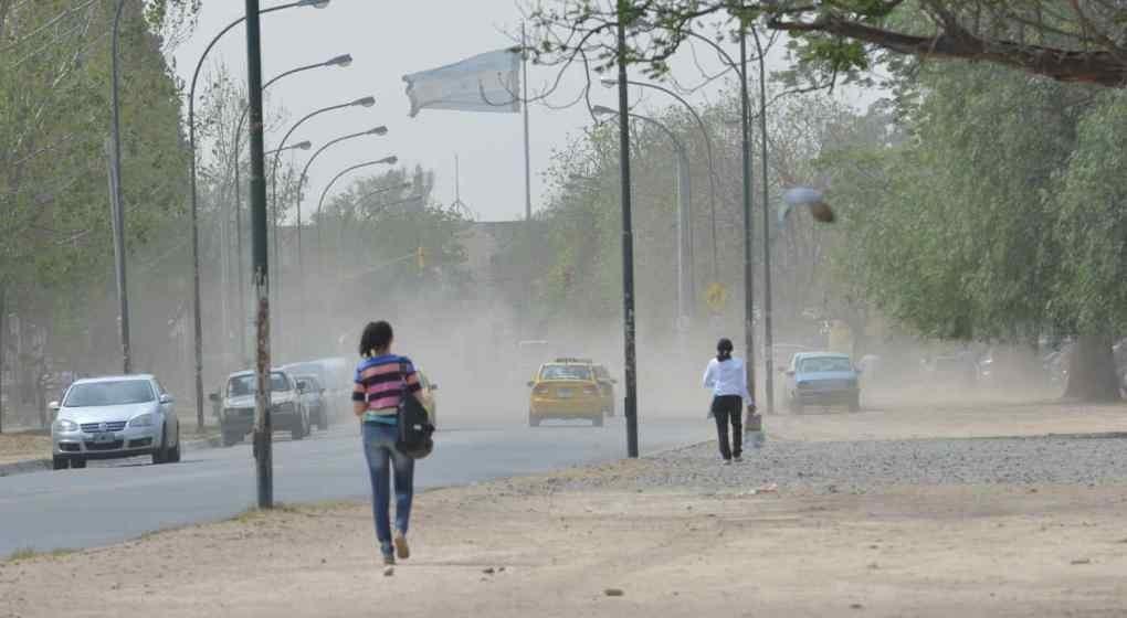 Mantienen la alerta para Córdoba por vientos fuertes