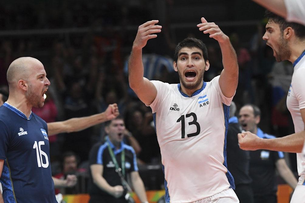 Argentina venció a Alemania en tie break