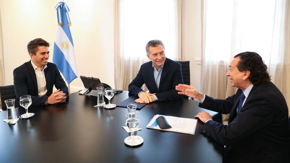 Macri recibió al CEO de una empresa de biotecnología especializada en producción agrícola