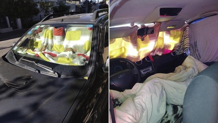 El drama de los argentinos varados en Brasil que duermen en sus autos y los vecinos les dan de comer: